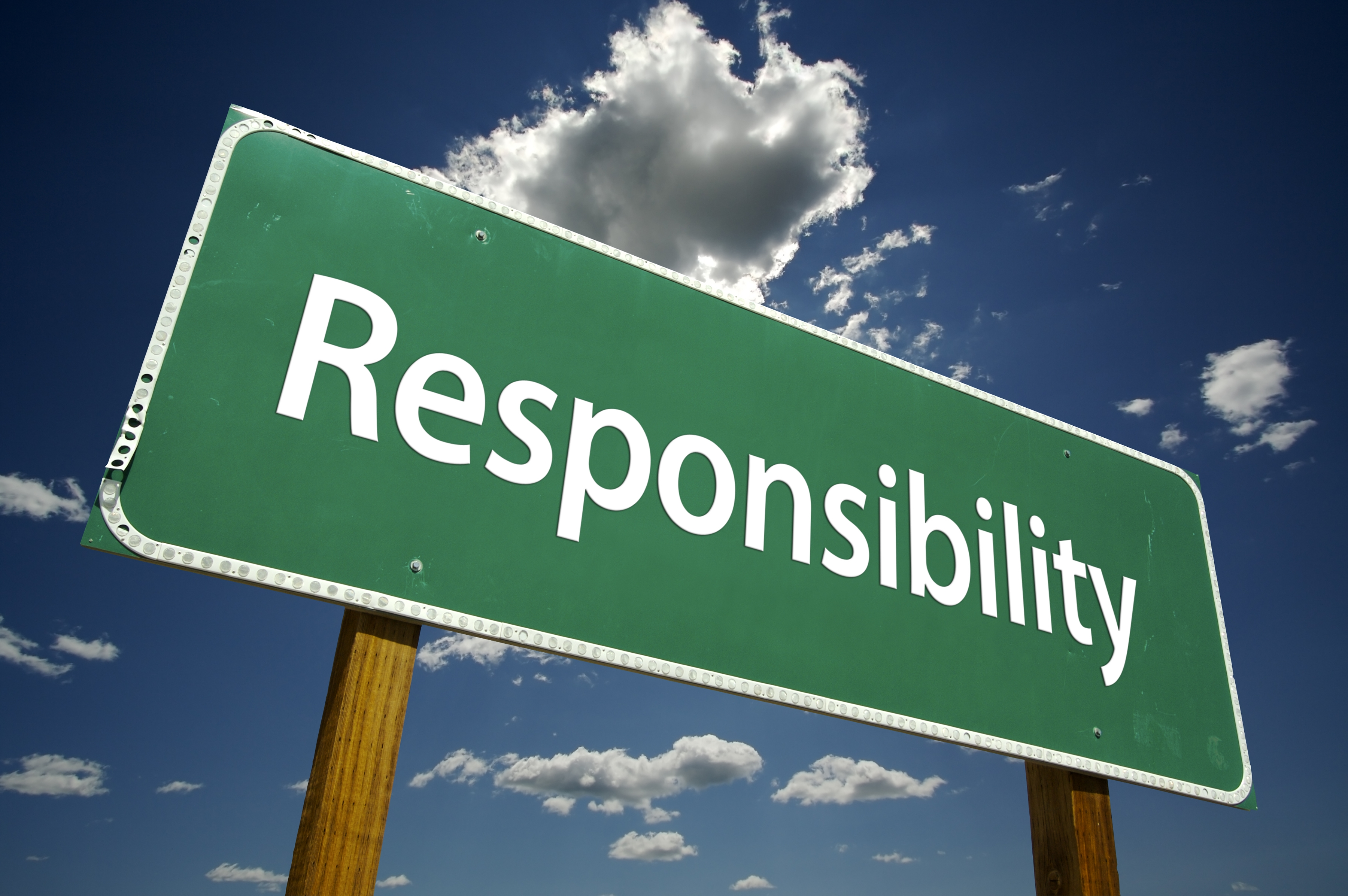 how personal responsibility will lead to my A key to a good credit score is how well you manage the debt you have it shows that you're not responsible enough to plan ahead and budget for the future this has a negative impact on your credit score, and it may be looked on negatively by anyone assessing your level of responsibility via your.